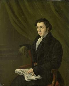 ヨハネス・ペトルス・シューベルグ、ユトレヒト帝国造幣局切手彫刻師の肖像画