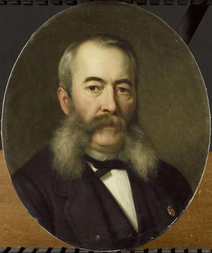画家、ヘルマン・フレデリック・テン・ケイト(1822-91)