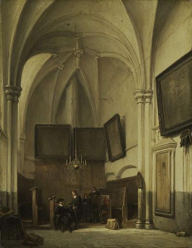 ニームヘンの聖ステファン教会の祭服室