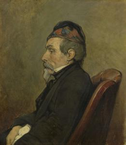 海洋画家、ヨハン・ヘンドリック・ルイス・メイヤーの肖像