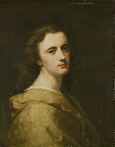 16歳の画家の娘、テレーゼ・シュヴァルツの肖像