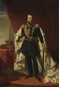 オランダ王、ヴィレム3世の肖像画