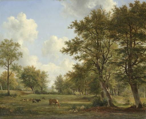 ヒルフェルスム近郊の風景