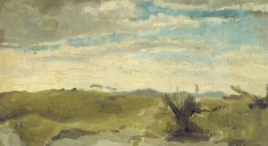 デン・ハーグのデッケーズダン近郊からの砂丘の眺め