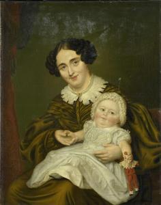 カープ夫人と若い息子