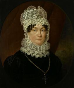 ジョブ・シーバーン・メイの妻、アン・ブランダー(1837没)の肖像