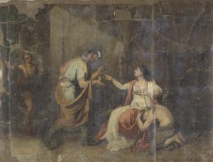 ヌミディアの女王、ソフォニスバの死