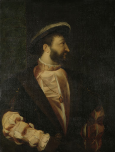 フランス王、フランシス1世(1494-1547)