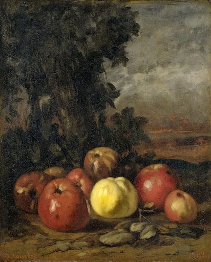 リンゴの静物