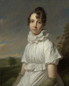 エマ・ジェーン・ホッジスの肖像画