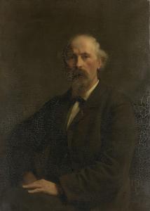 画家、ピーター・ストーテンベカー(1828-1898)の肖像