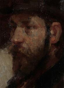 美術商エルベール・ヤン・ファン・ヴィシェンガーの肖像