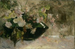 牡丹の静物画