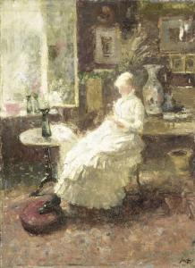 サリー州リサデル、アニー・ホールの肖像