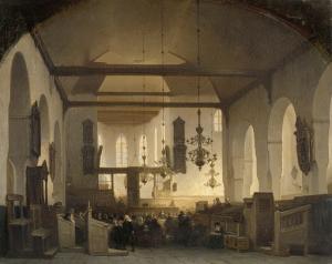 ユトレヒト、ゲーテ教会での儀式