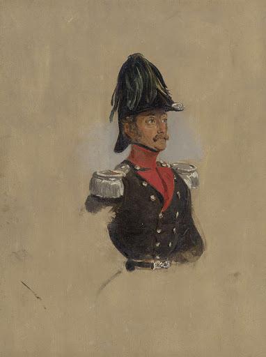 ミュンヘンのキャプテンJ.J.P.の肖像の習作