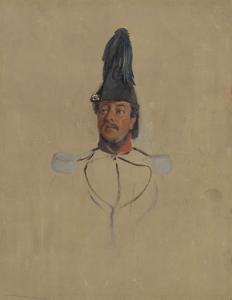 キャプテンT.S.ナバルの肖像の習作