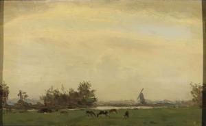 スパールネの草原風景