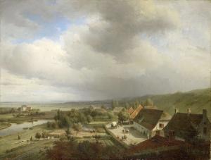 ヴァーヘニンゲン近くの丘景色。