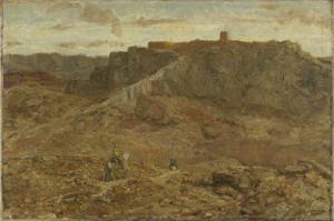 エジプトの山岳風景