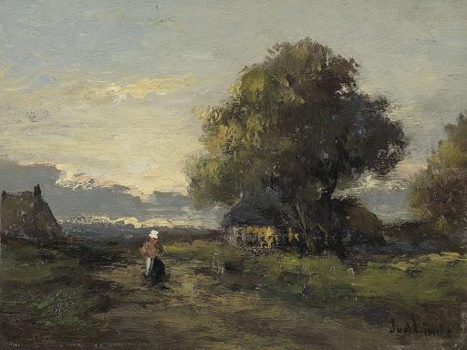 農家の景色