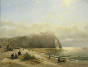 海岸近くの海の風景