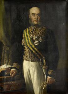 総督(1871-75)、ジェームズ・ロードン(1824-1900)