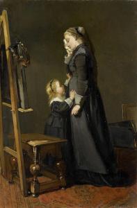 ある画家の未亡人