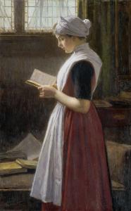 アムステルダム孤児院の少女