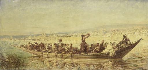 コンスタンティノープルのムーア人の漕ぎ手
