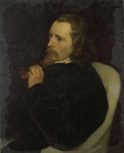 画家、ギュイラウム・アンネ・ヴァン・デル・ブリューヘン(1812-91)