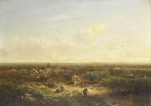 村の遠い眺め