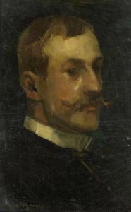 アドリアン・ピット(1860-1944)。アムステルダムのオランダ歴史芸術博物館の管理人。