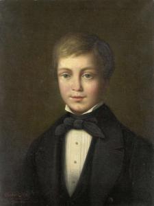 12歳のヤコブ・ヴァン・エーガン(1818-34)