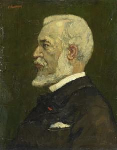 画家、ヨハネス・ボスブーム(1817-91)