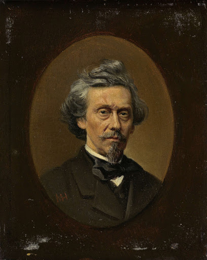 画家、ペトルス・フランシスカス・グリーヴ(1811-72)