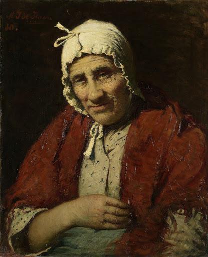 年老いたユダヤの女