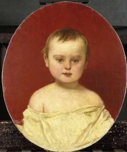2歳のヘンリ・バーナード・ヴァン・デル・コルク