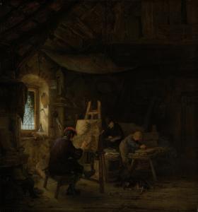 画家の工房