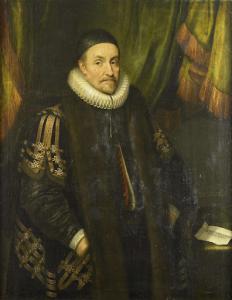 オランジェの王子、寡黙なウィリアムと呼ばれているウィリアム1世の肖像