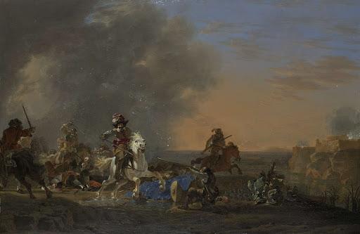 日没の騎兵攻撃