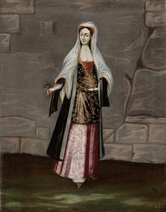 ミノコス島の女性