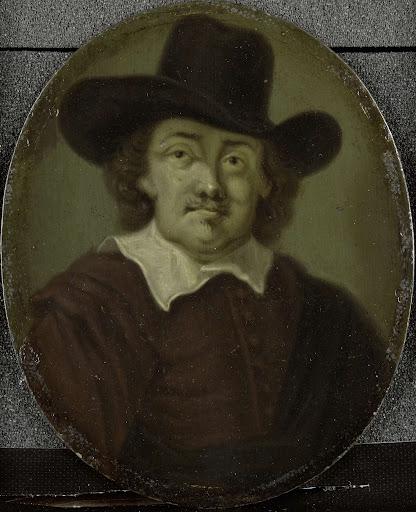 アムステルダムの詩人、ジェレミアス・デ・デッカーの肖像