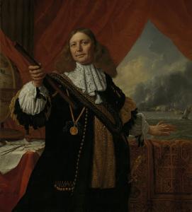 海将、ヨハン・デ・リーフデ(1619-73)