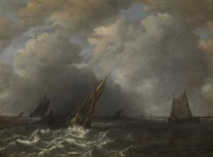 嵐のミューズ川