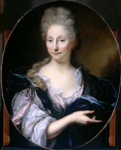ピーター・ヴァン・デ・ポエルの妻、マルガレータ・ヴァン・デ・エックホートの肖像