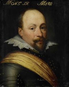 オステンドの知事、マルケッテ卿、ダニエル・デ・ハーテイングの肖像