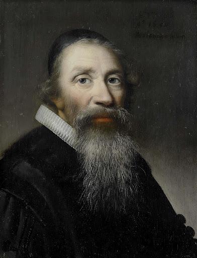 男性の肖像画、おそらく聖職者