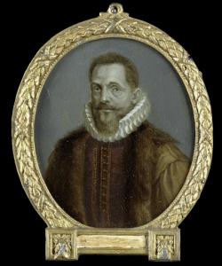 ライデンの教授、ペトルス・ベルティウスの肖像