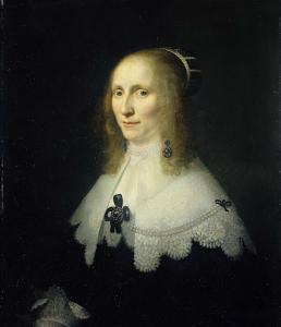 マルテン・ハーパーツ・トロンプの三番目の妻、コーネリア・テディング・ヴァン・ベルクホートの肖像